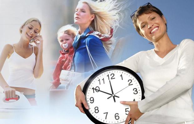 Как все успеть работающей маме
