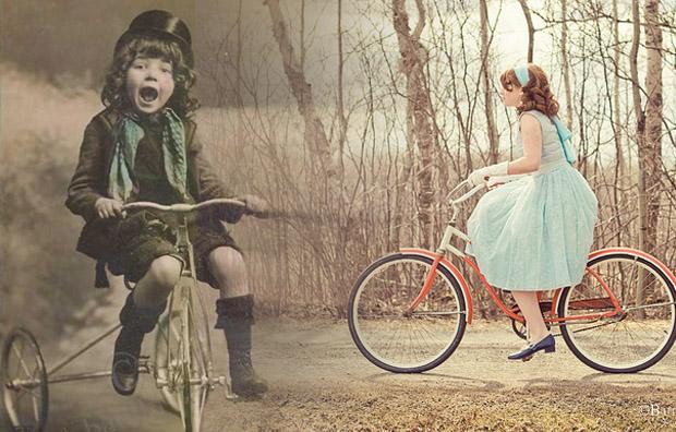 как кататься на велосипеде